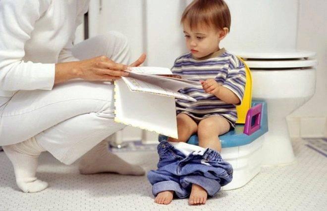 Когда и как правильно приучать малыша к горшку. приучение ребенка к горшку
