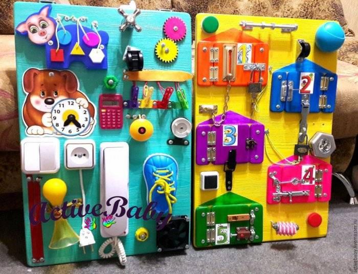 Бизиборд своими руками для мальчика: 7 крутых идей