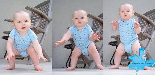 Можно ли ставить ребенка на ножки в 2, 3, 4, 5, 6 месяцев с поддержкой: комаровский