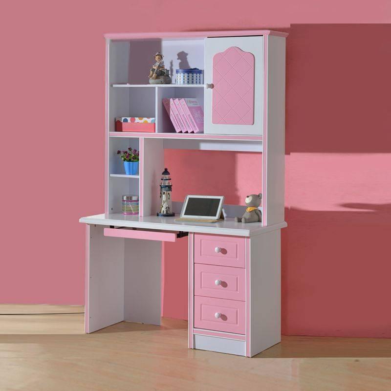 Стол письменный картинки для детей – белый и розовый детский на 7-9 лет и для подростка 12 лет, красивые угловые и с надстройкой