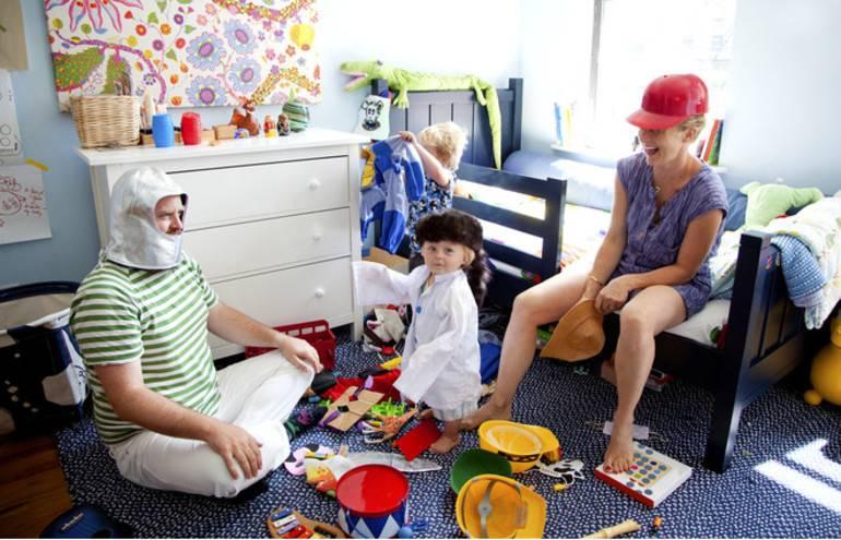 Чем занять ребенка 2-3 лет, когда мама хочет отдохнуть