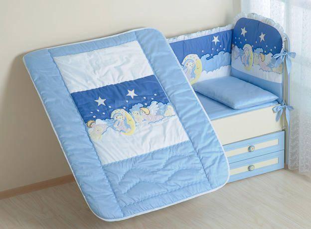 Выбор и описание одеяла для новорожденного