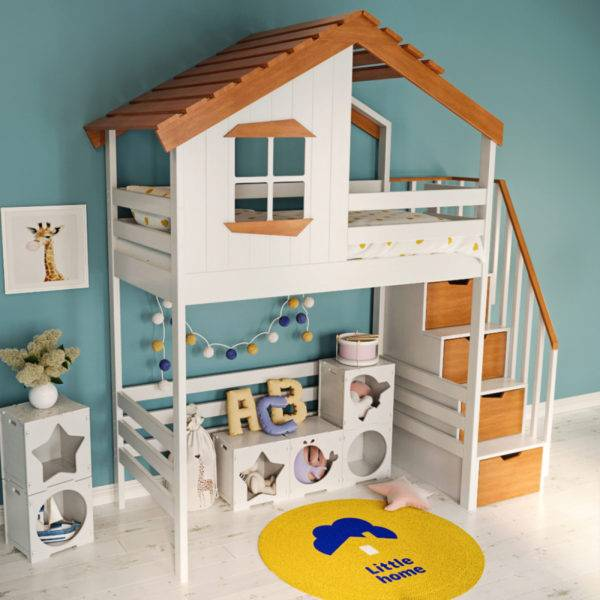 Кровати-домики для детей: секрет популярности и тонкости выбора