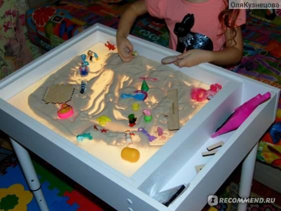 Световые песочницы myplayroom: детские столы-песочницы 7 в 1 и другие модели для рисования песком, отзывы