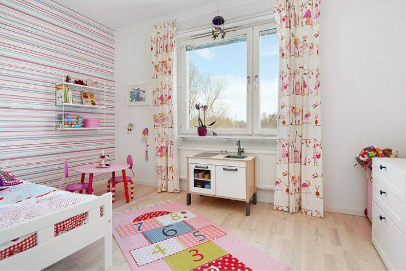 Делаем пол в детской комнате: сравнительный обзор подходящих напольных покрытий