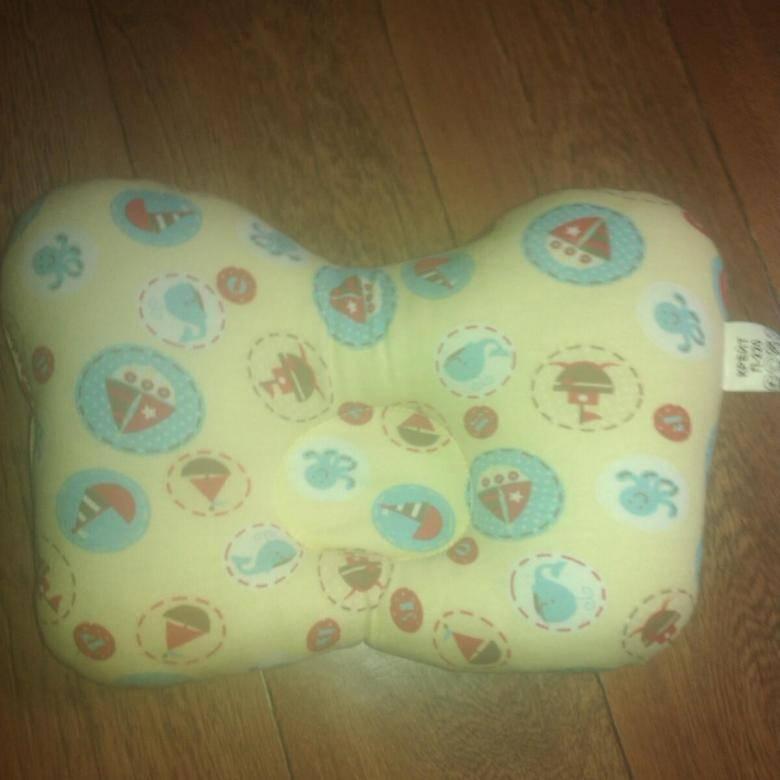 Ортопедические подушки для новорожденных при кривошее