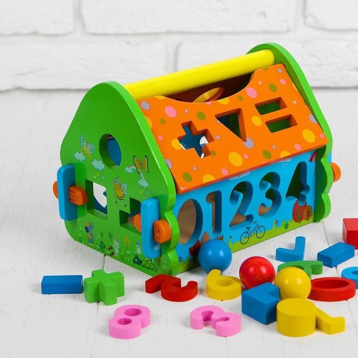 Как правильно подобрать сортер для детей до года и чем полезна такая игрушка?