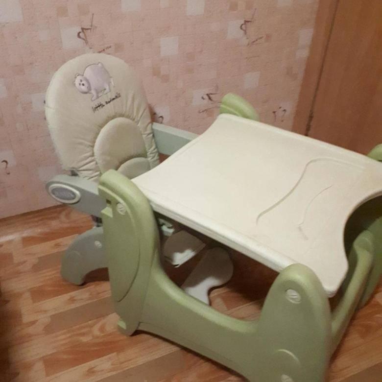Стульчик для кормления happy baby ecolux отзывы