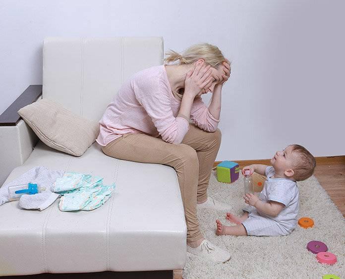 Устала от ребенка. молодая мама и ''день сурка'' длиною в год