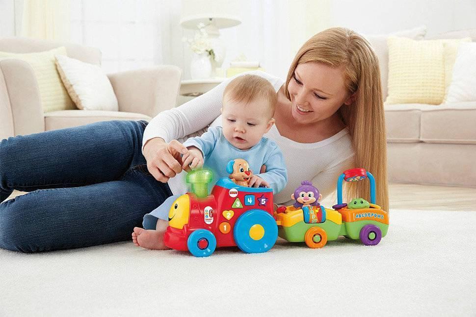 Игрушки для грудничков от рождения до года по месяцам
