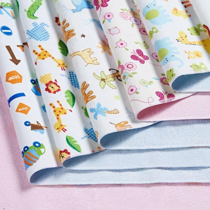 Пеленки для новорожденных: размер, своими руками, сколько нужно, какие лучше, ткань (фланелевые, муслиновые)