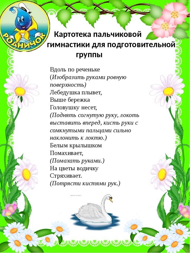 Пальчиковая гимнастика, пальчиковые игры для детей 2-3, 4-5, 6-7 лет