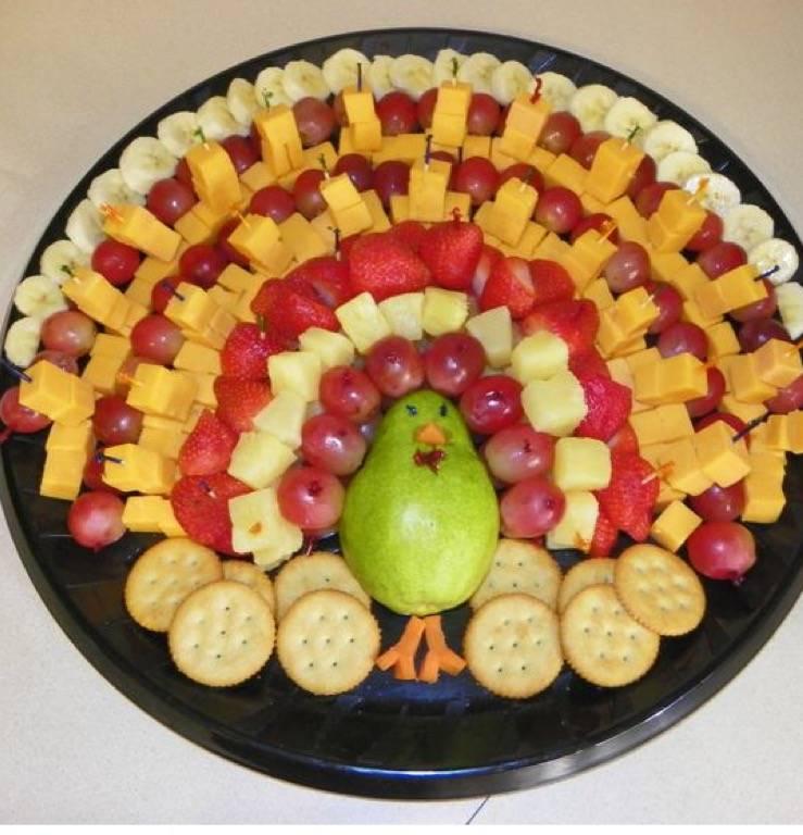 Нарезка овощей и фруктов на праздничный стол + топ-3 рецепта