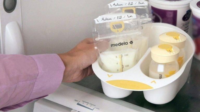 Как и сколько можно хранить сцеженное грудное молоко
