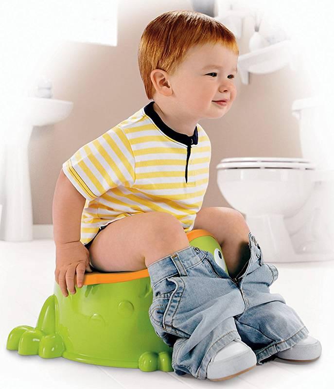 Как и когда приучать ребенка к горшку?