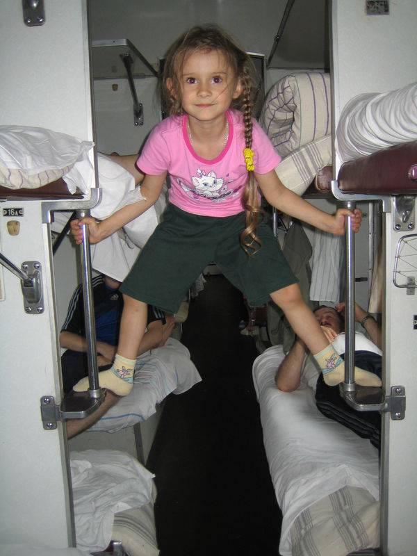 Проезд детей без сопровождения родителей в поезде