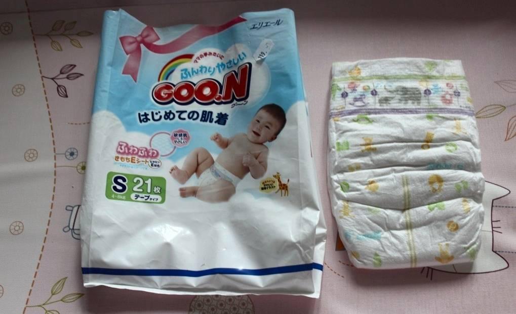 Подгузники goon (18 фото): японские памперсы и трусики для новорожденных девочек, размеры на 9 и 14 кг, отзывы
