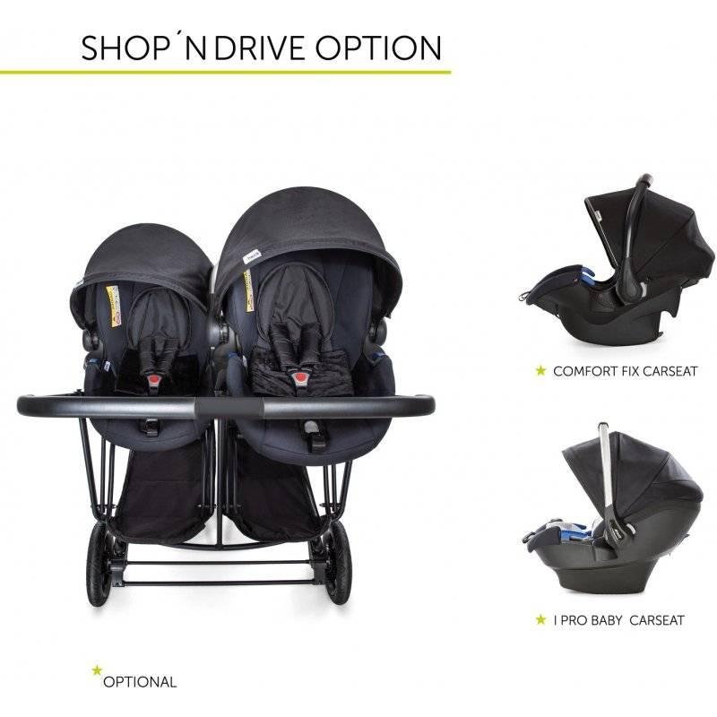 Купить коляску для двойни в официальном интернет-каталоге с доставкой по москве, спб