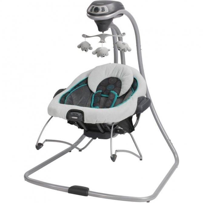 Электронные качели. качели для новорожденных