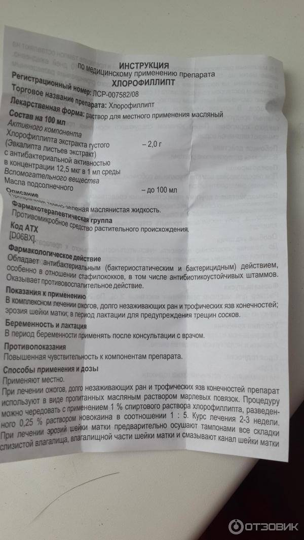 Хлорофиллипт® (chlorophyllipt)
