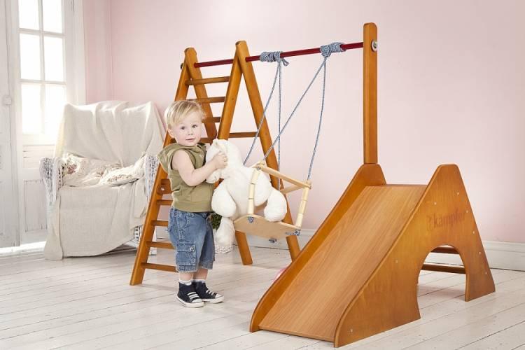 Детские качели для дома (41 фото): выбираем домашние комнатные качели для детей от 1 года в квартиру, навесные модели в комнату