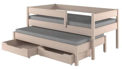Почему популярны выдвижные кровати для двоих детей, их положительные особенности