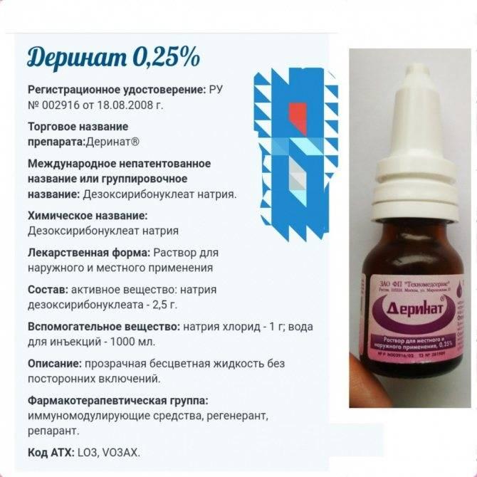 Деринат® (derinat)