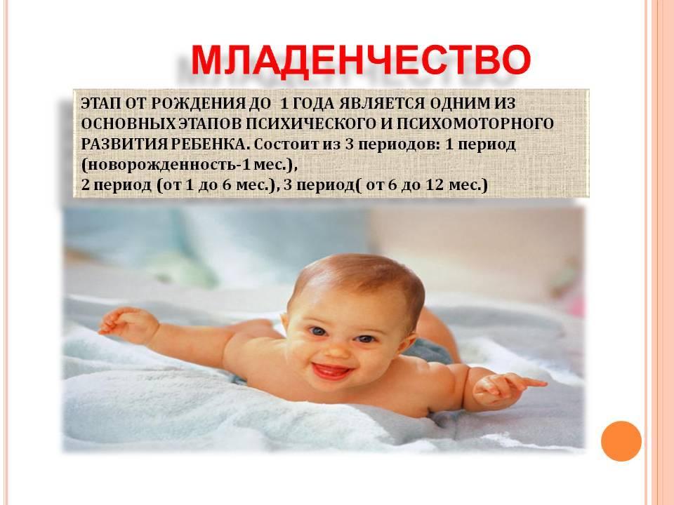 Новорожденный - первый месяц малыша