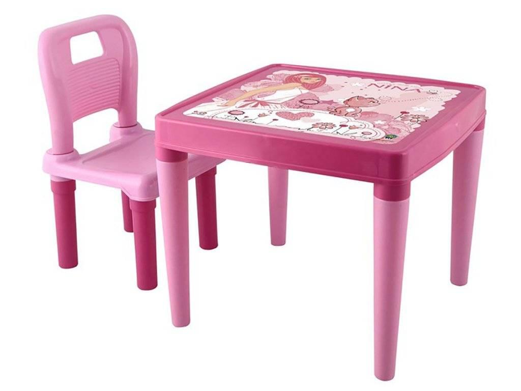 Детский столик со стульчиком