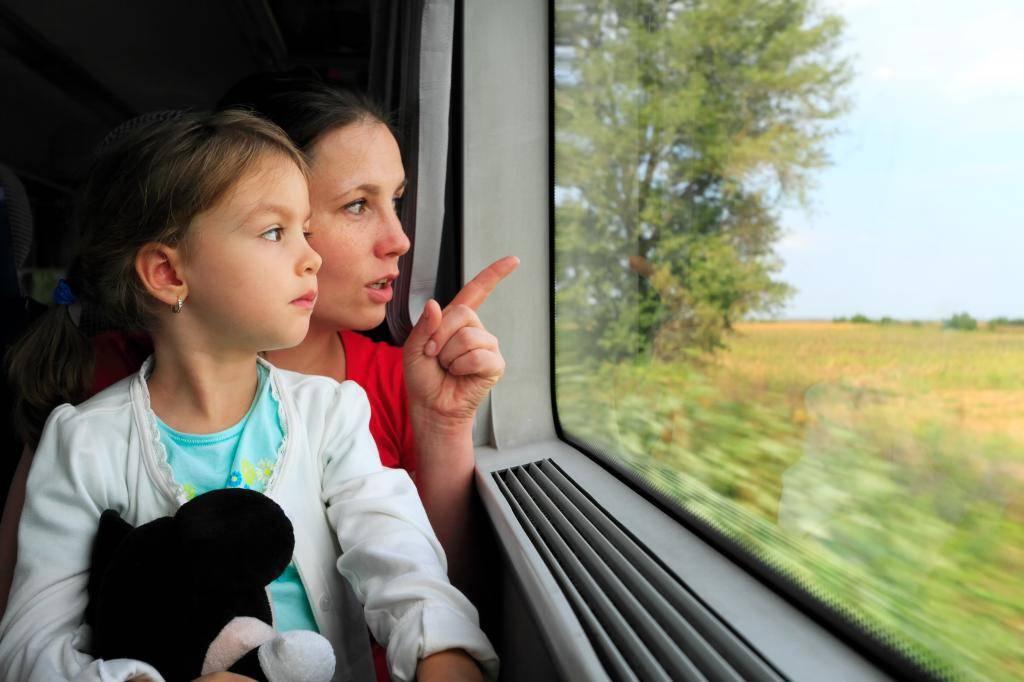 До скольких лет детский билет на поезд - особенности перевозки детей в поездах