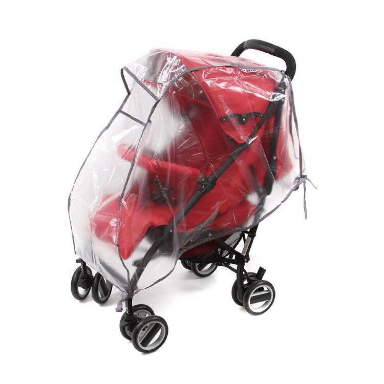 Дождевик на коляску: как одеть, для прогулочных колясок, универсальные - hellobuggy