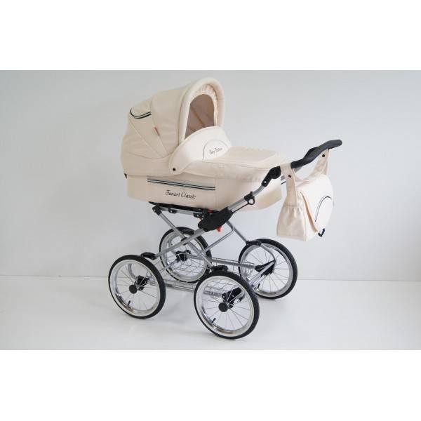 Классические коляски: детская «классика» на раме и шасси