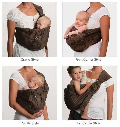 Как сделать слинг для новорожденных своими руками + выкройка