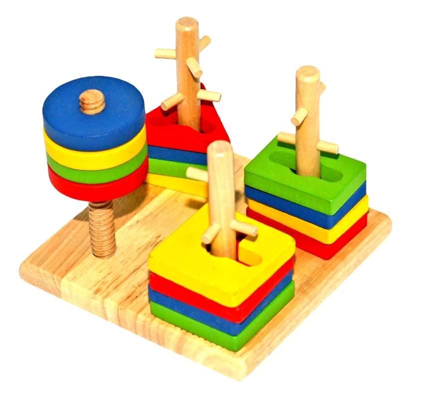 Закажите детские экологичные деревянные игрушки в спб, москве и регионах с доставкой