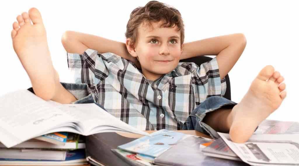 Ленивый ребёнок. инструкция для воспитывающих