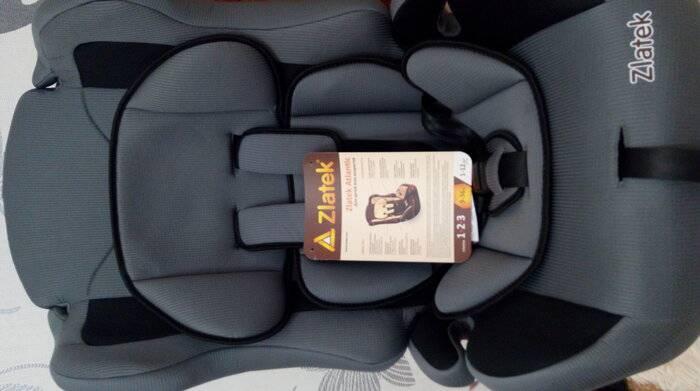 Автокресло zlatek: безопасное и приятное путешествие