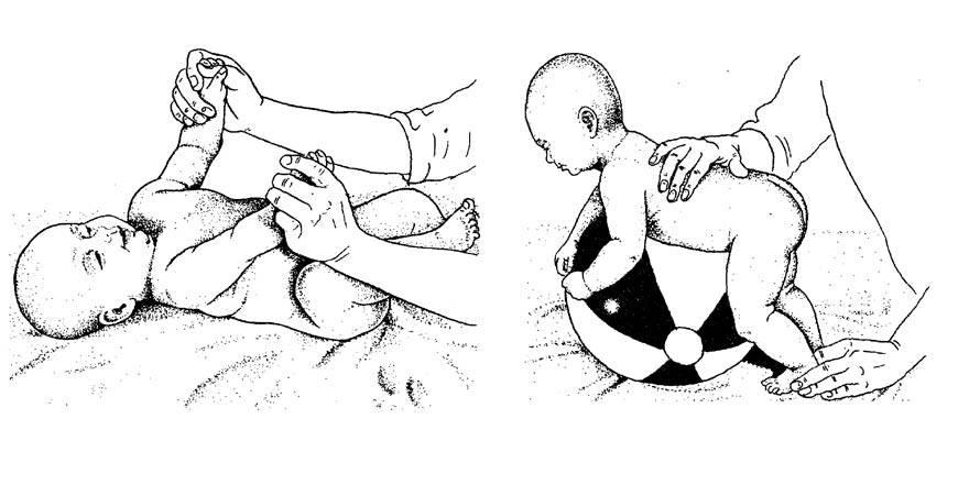 Массаж ребенка в возрасте от 9 до 12 месяцев