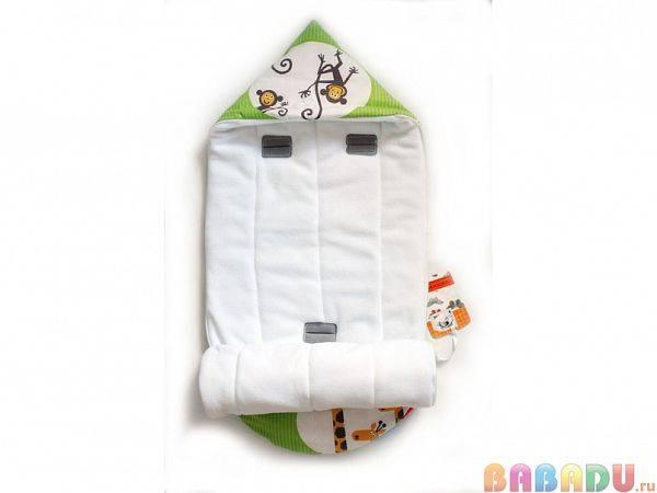 Конверт-одеяло для новорожденного своими руками с красивыми узорами