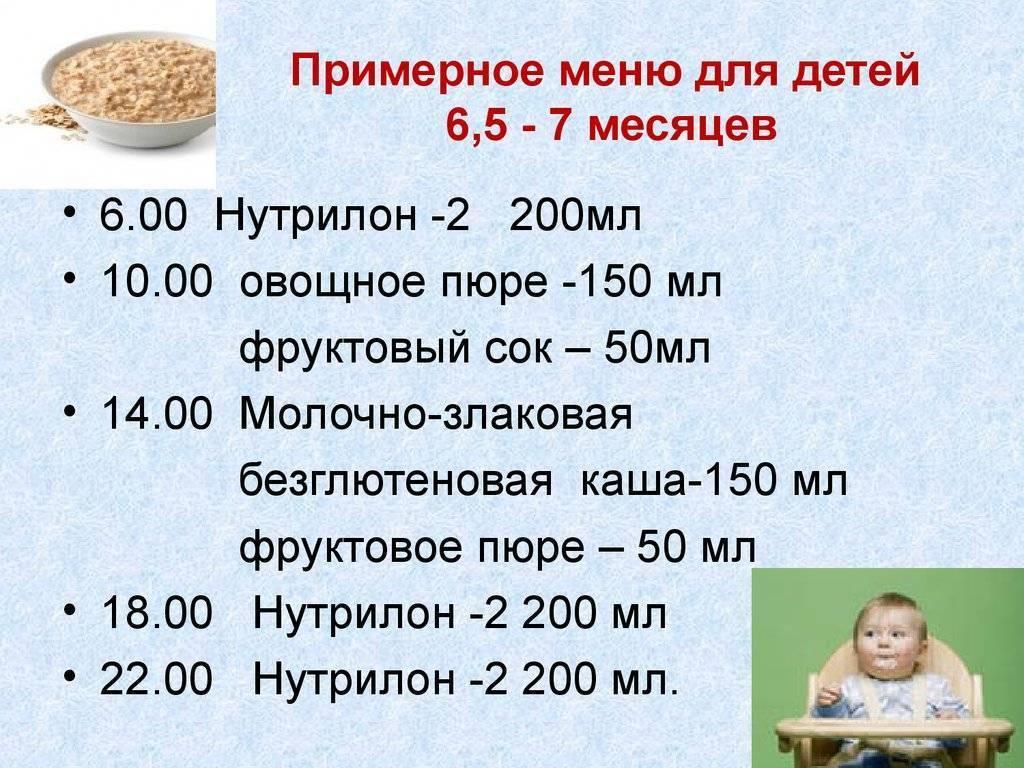 Меню ребенка в 9 месяцев: питание и рацион на грудном и искусственном вскармливании, по комаровскому
