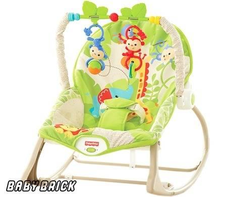 Качели-шезлонг для новорожденных