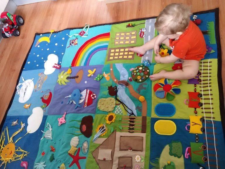 Детские коврики для новорожденных