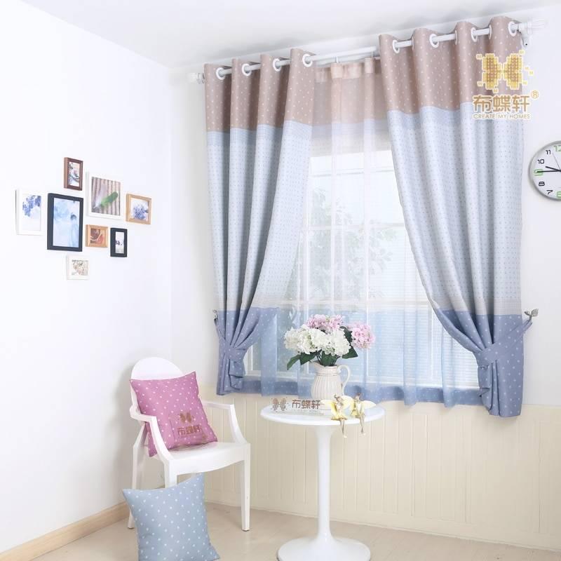 29 вариантов штор в детскую комнату для девочки
