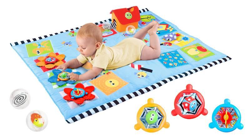 Оригинальный и полезный аксессуар — развивающие коврики для детей от 0 до 18 месяцев: для чего необходим и как выбрать подходящую модель