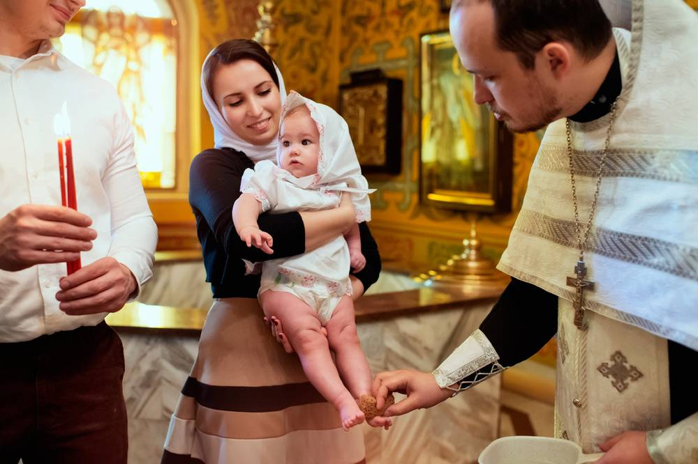 Как проходит таинство крещения в церкви?