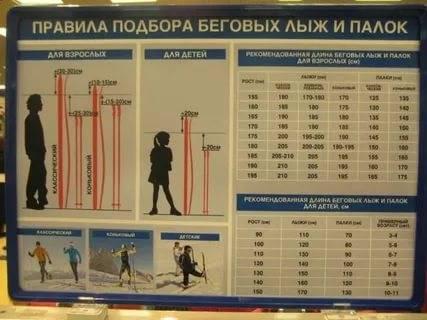 Как выбрать лыжи ребенку по росту и весу: для удобства и безопасности