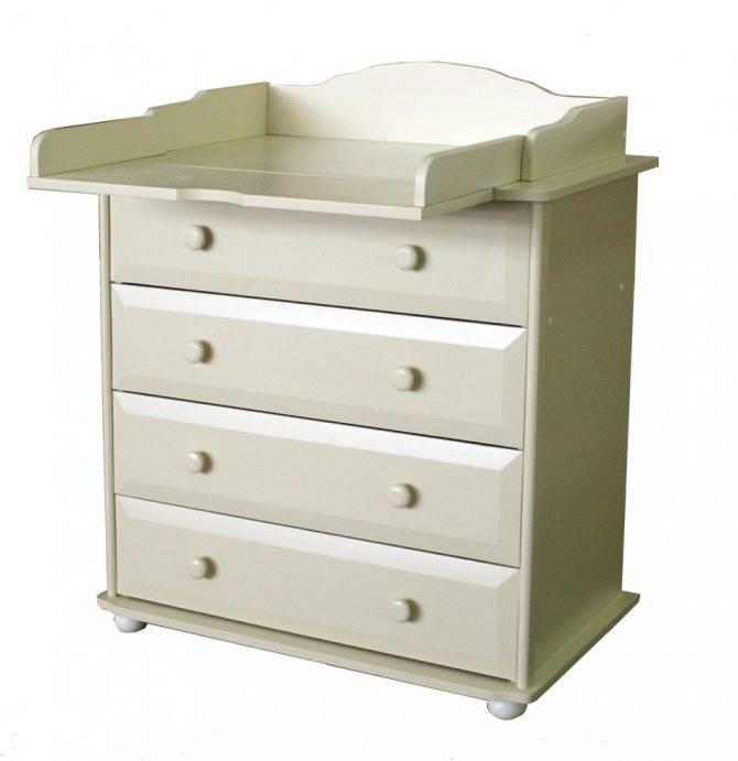 Пеленальный столик - 110 фото много функциональной и практичной мебели