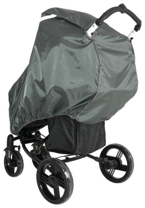 Как выбрать дождевик на коляску: критерии и особенности
