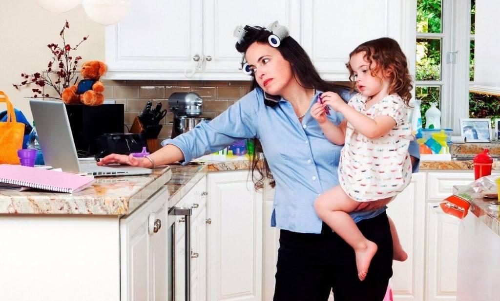 Двое детей: как справиться?   любящая мама