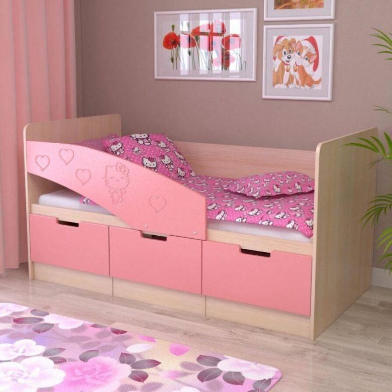 Подростковая кровать с бортиками