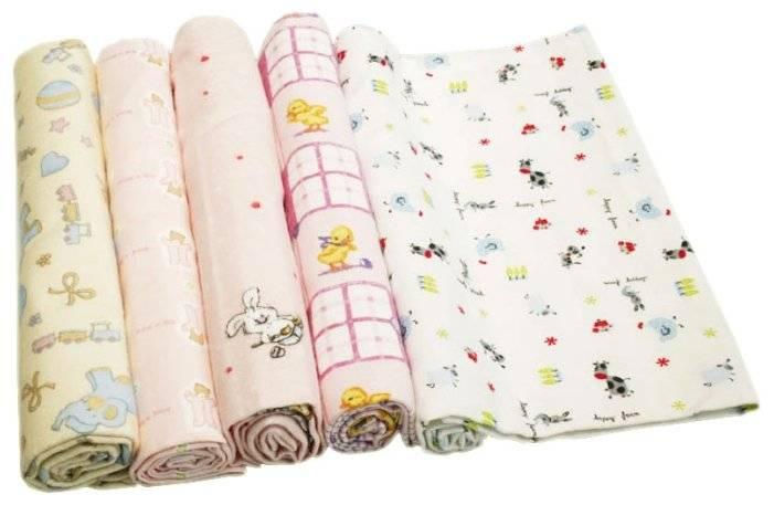 Правила самостоятельного пошива пеленок для новорожденных
